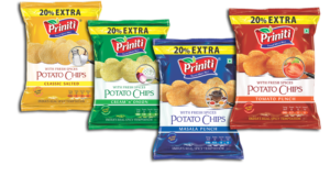 Potato Chips Manufacturers and Suppliers in India