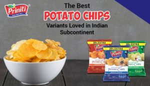 The Best Potato Chips Variants Loved in Indian Subcontinent