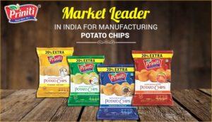 Priniti: Market Leader in India for Manufacturing Potato Chips