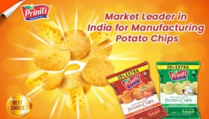 Market Leader in India for Manufacturing Potato Chips
