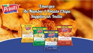 Priniti: Emerges As Number 1 Potato Chips Supplier in India