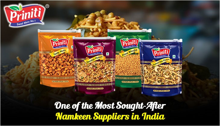 Printi: One of the Most Sought-After Namkeen Suppliers in India