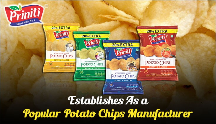 Establishes As a Popular Potato Chips Manufacturer