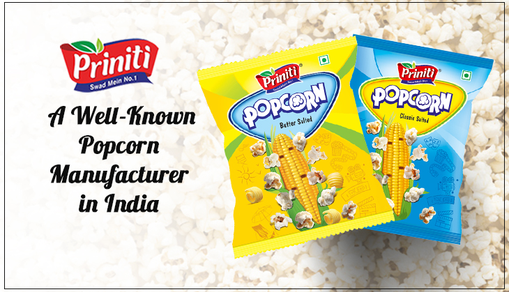 Priniti: A Well-Known Popcorn Manufacturer in India
